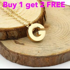 Jewelry - DIY letter initial name letter G necklace
